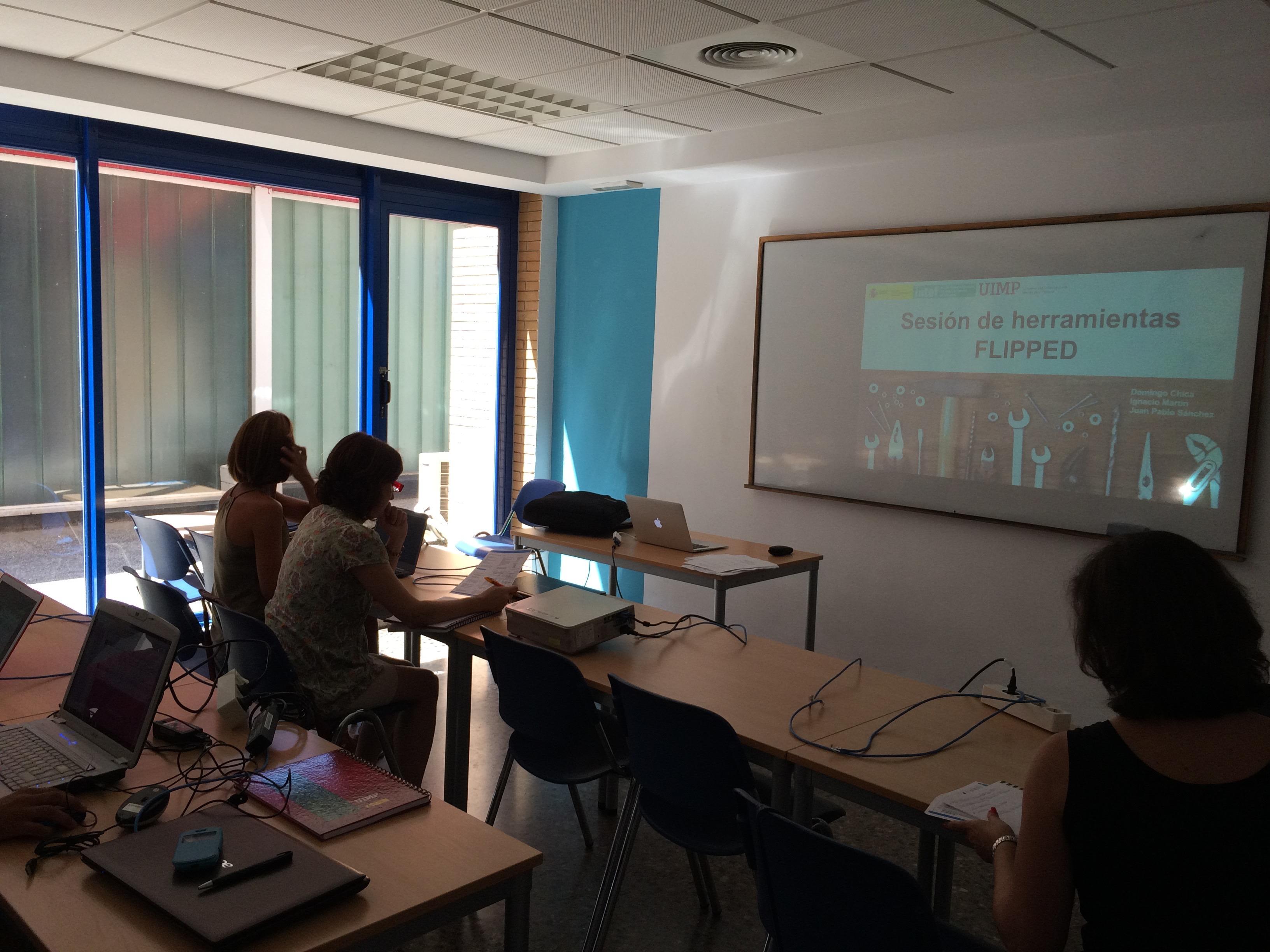 Taller herramientas flipped classroom. UIMP Valencia, julio 2015.