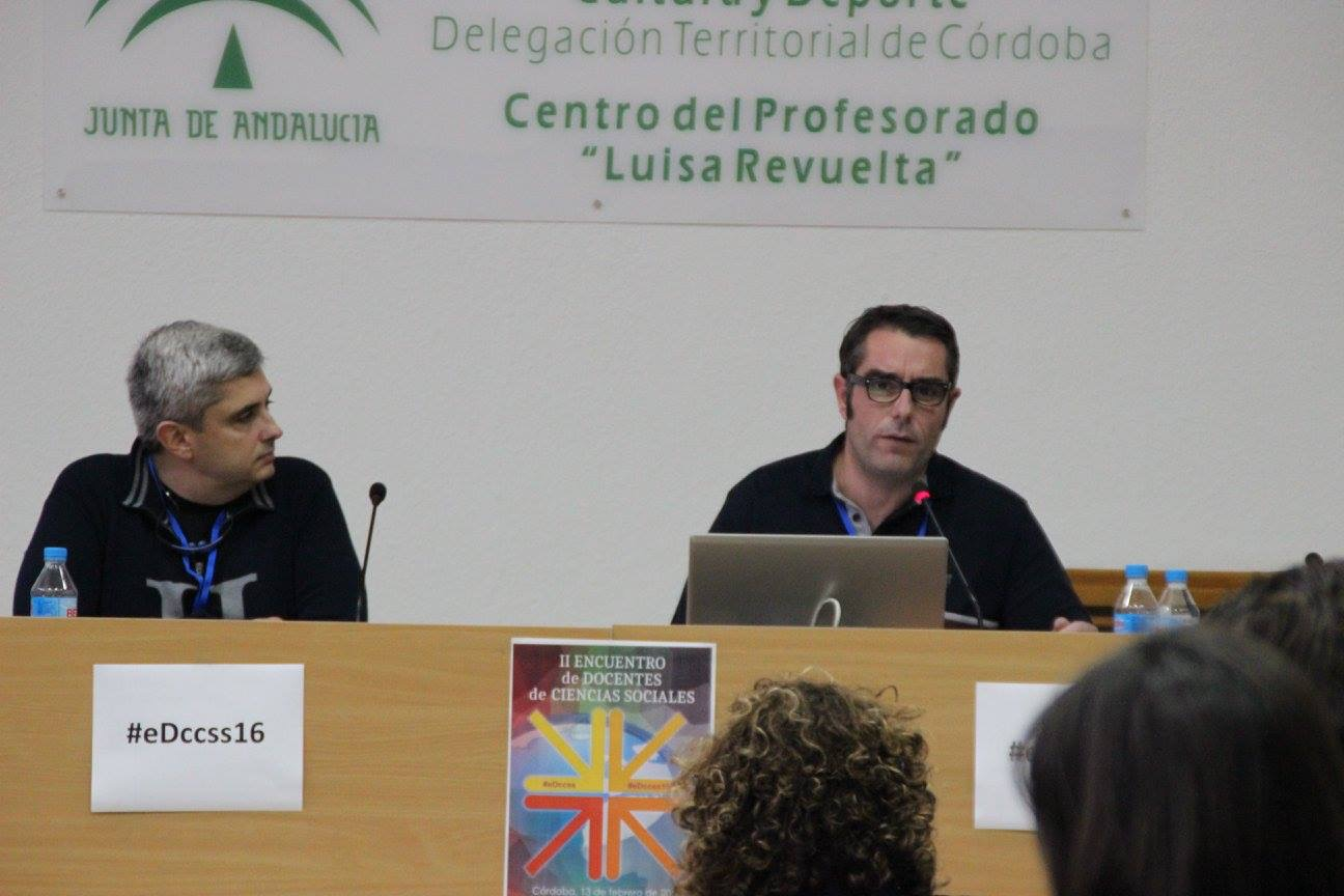 II Encuentro Docentes CCSS. CEP Córdoba, abril 2016.