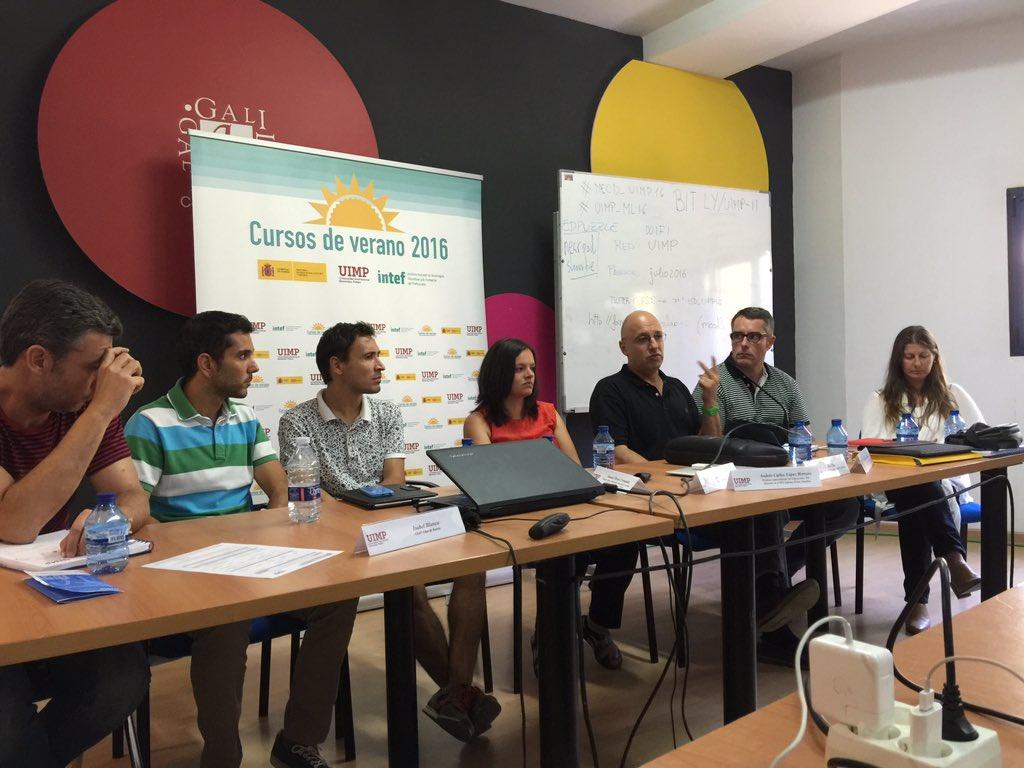 Curso Mobile Learning UIMP Valencia. Julio 2016.