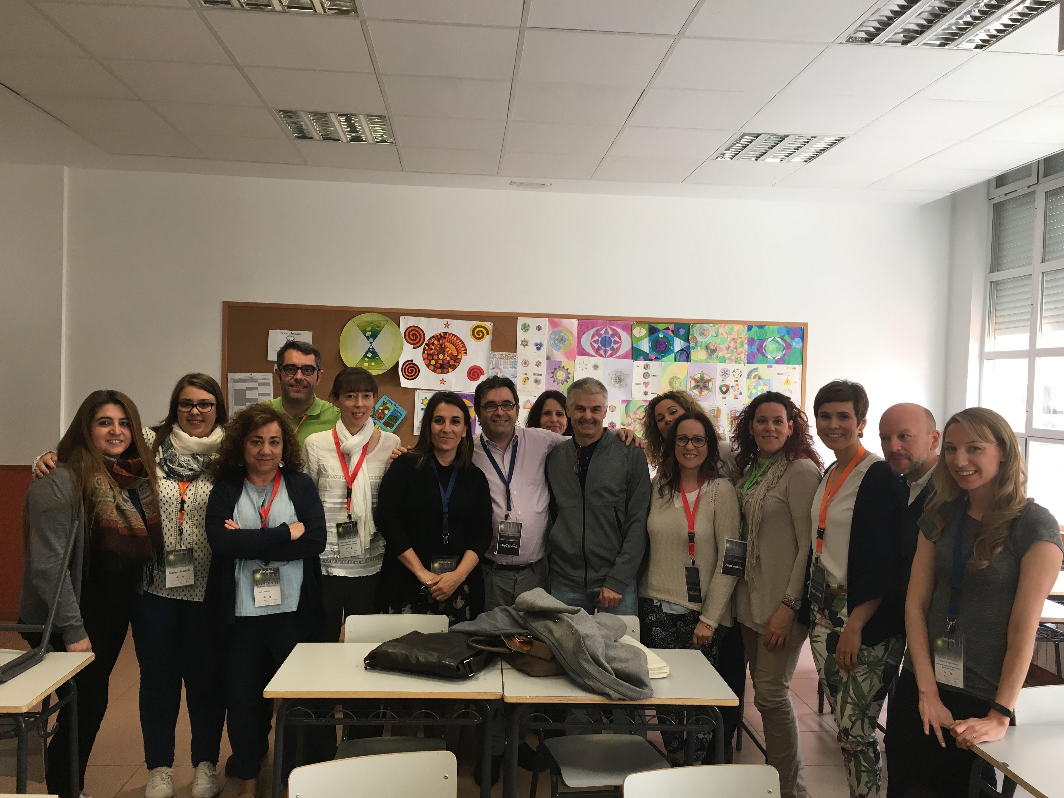 Tallerista III Congreso Europeo Flipped Classroom. Abril 2017