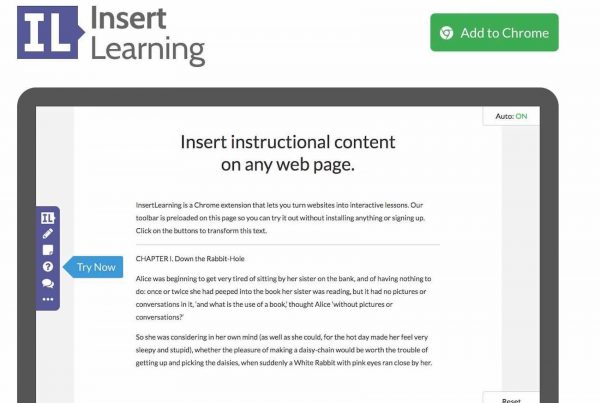 Insert Learning