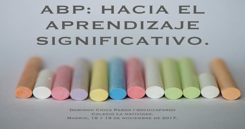 ABP en el Colegio La Natividad de Madrid.