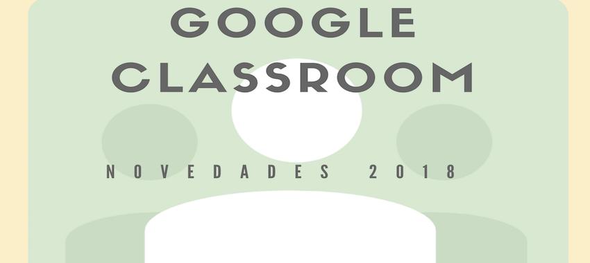 Ya está aquí: el nuevo Google Classroom.