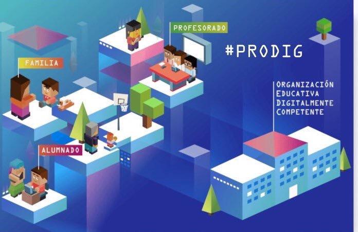 Jornadas #PRODIG y centros digitalmente competentes