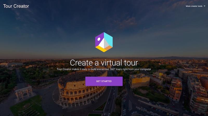 Crea experiencias 360 con Google Tour Creator